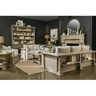 One Allium Way Jacey 2 Piece Coffee Table Set