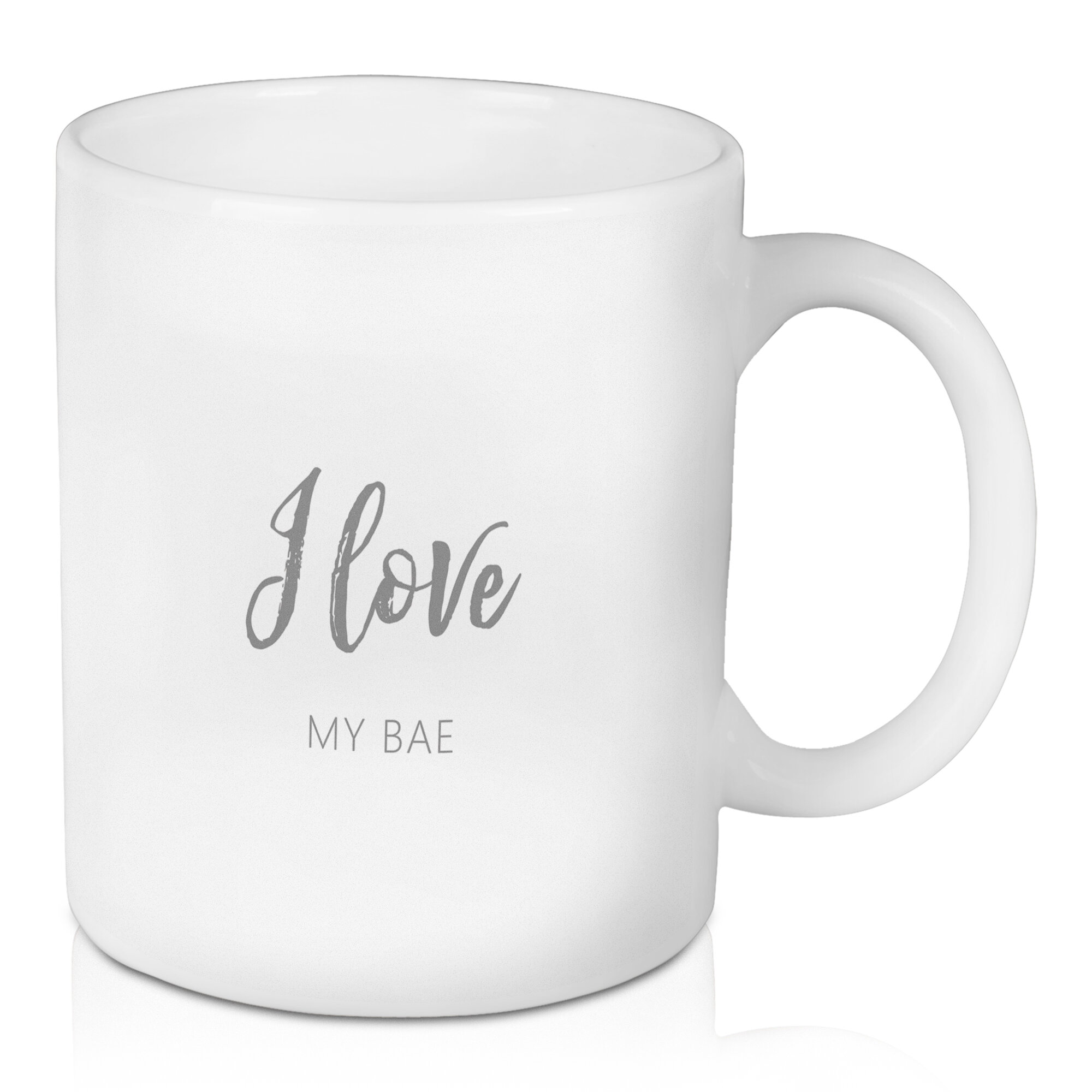 East Urban Home I Love My Bae Coffee Mug Wayfair