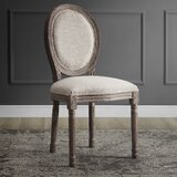 Vicente French Upholstered Dining Chair by Ophelia & Co.