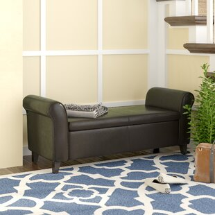 Price comparison Varian Upholstered Storage Bench By Alcott Hill