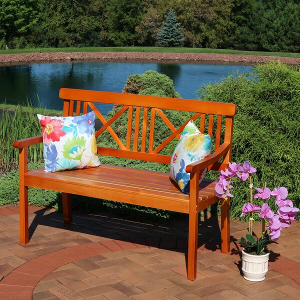 Two Person Outdoor Bench Wayfair