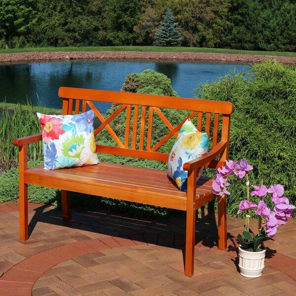 Wondrous Two Person Outdoor Bench Wayfair Ibusinesslaw Wood Chair Design Ideas Ibusinesslaworg