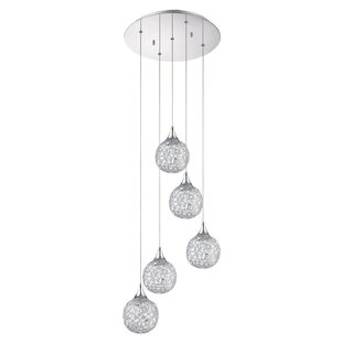 Solaro 5-Light Pendant by Kend..