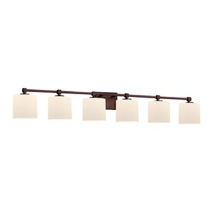 Compare & Buy Jacobsen 6-Light Glass Shade Vanity Light By Brayden Studio