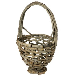 Reviews Wooden Basket By ESSENTIAL DÉCOR & BEYOND, INC