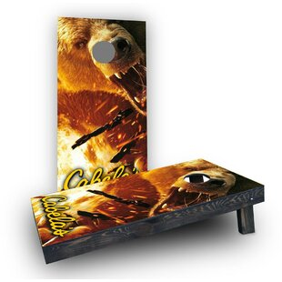 Custom Cornhole Boards Cabelas Cornhole Boards (Set of 2)