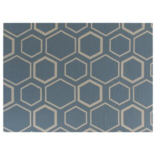 Shopping for Hand-Woven Wool Turquoise/White Area Rug ByExquisite Rugs