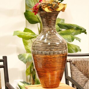 Silver/Gold Trumpet Vase