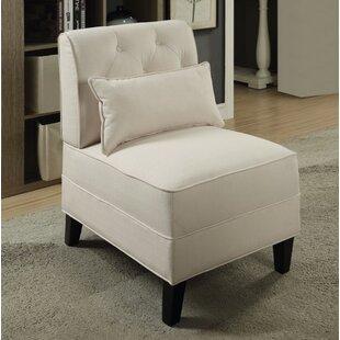 Winston Porter Fontes Slipper Chair