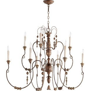 One Allium Way Paladino 9-Light Chandelier