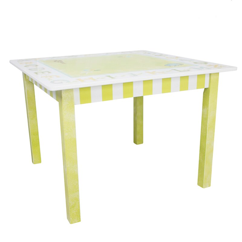 Charming Alphabet Kidu0027s Writing Table