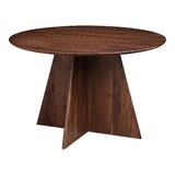 Barajas Walnut Solid Wood Dining Table by Foundry Select