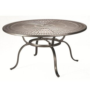 Vada Metal Dining Table by Tropitone