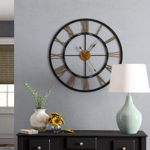 "Oversized Geoghegan 26.77"" Wall Clock"