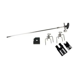 Battery Operated Universal BBQ Rotisserie Set By Symple Stuff