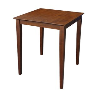 Counter Height Solid Wood Dining Table by International Concepts Great price