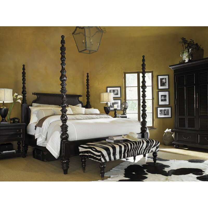 Tommy Bahama Home Kingstown Canopy Configurable Bedroom Set Reviews Wayfair Ca