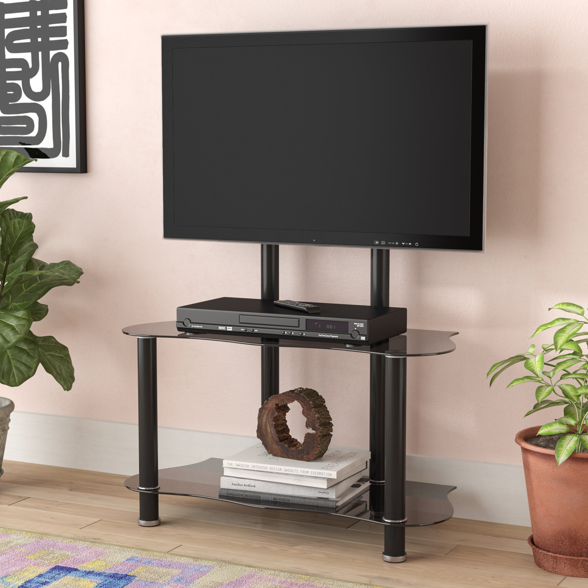 Ebern Designs Chantal Tv Stand For Tvs Up To 32 Reviews Wayfair