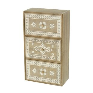 Zwilling 3 Drawer Chest By World Menagerie