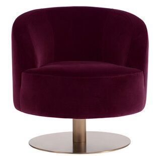 Peggy Swivel Club Chair by Sunpan Modern