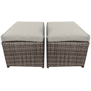 Huntingdon Stool With Cushion (Set Of 2) Image