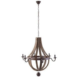 Union Rustic Damaris 6-Light Empire Chandelier