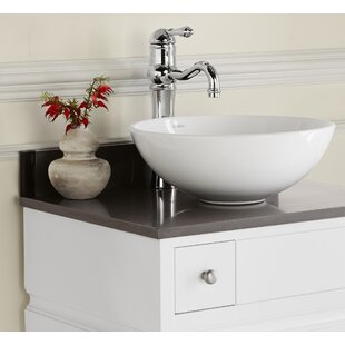 Read Reviews Contour Ceramic Circular Vessel Bathroom Sink By Ronbow