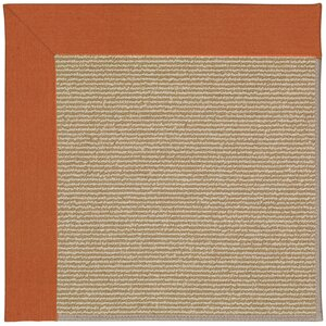 Zoe Machine Tufted Russet/Brown Indoor/Outdoor Area Rug