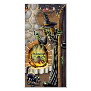 Halloween Witchs Brew Door Cover