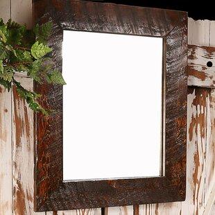 Utah Mountain Rough Hewn Bathroom/Vanity Mirror