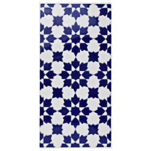 Interior Blue And White Tile blue and white tile wayfair esna 5 x 11 ceramic field in bluewhite