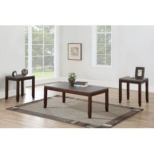 Lapine 3 Piece Coffee Table Set by Winston Porter