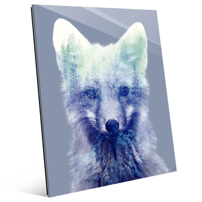 Forest Fox Graphic Art