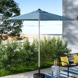 Wiebe 9' Market Sunbrella Umbrella by Breakwater Bay