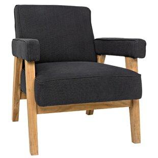 Linus Armchair by Noir