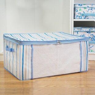 Fabric Cube or Bin by Laura Ashley