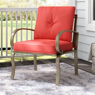 Courtois Outdoor Patio Chair with Cushion