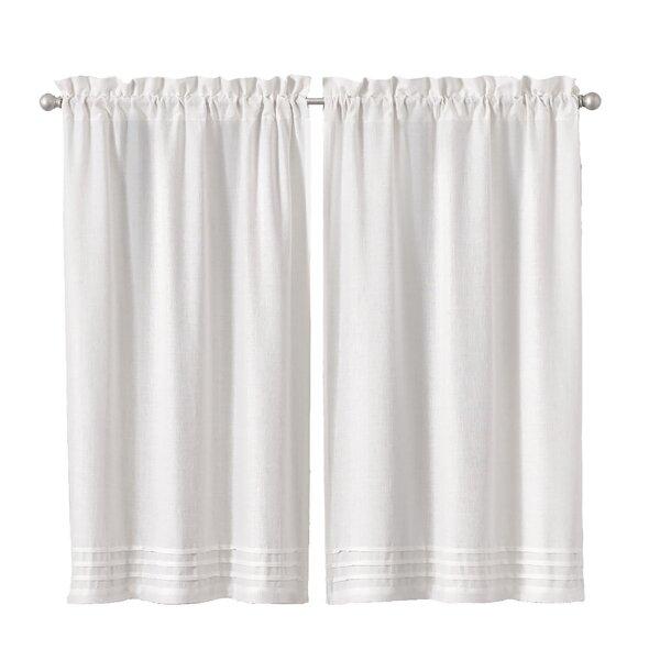 Bathroom Small Window Curtains Wayfair
