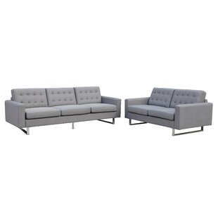 Order Beneva 2 Piece Living Room Set by New Spec Inc Reviews (2019) & Buyer's Guide