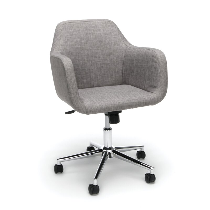 Worsley Upholstered Home Office Chair Reviews Joss Main