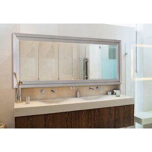 Inexpensive Satin Bathroom Mirror By Hitchcock Butterfield Company