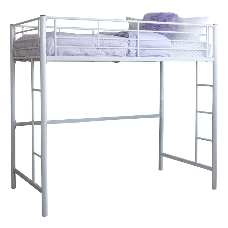 Superieur Belfort Charmaine Metal Twin Loft Bed