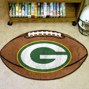 NFL - Green Bay Packers Football Mat By FANMATS