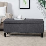 Vene 42 Tufted Storage Ottoman by Charlton Home®