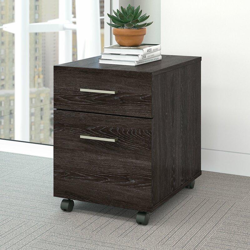 Upper Square Arabel 2 Drawer Mobile Vertical Filing Cabinet Wayfair
