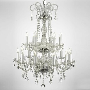 Lankford 18-Light Candle Style Chandelier by Rosdorf Park