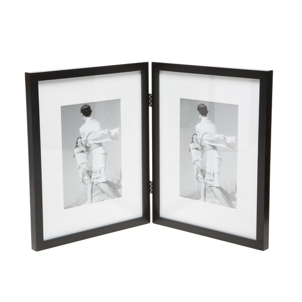 Charlton Home Saunterton Contemporary Hinged Double Picture Frame ...