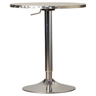 Adlai Height Adjustable Pub Table By Mercury Row