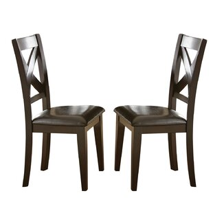 Alcott Hill York Solid Wood Dining Chair (Set of 2)