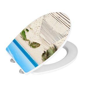 WC-Sitz Dune länglich von Wenko